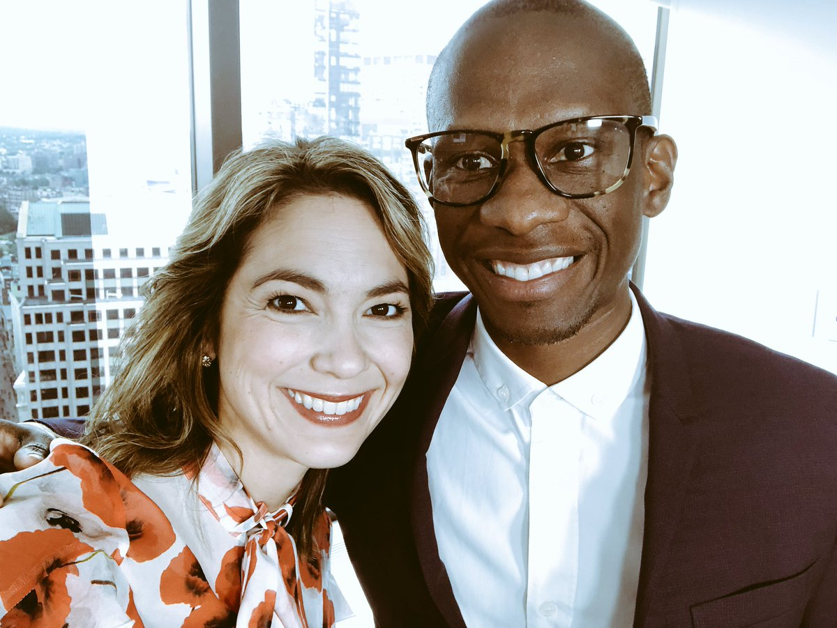 Always love catching up with @atomfactory's Troy Carter! Catch him on the show Monday on the future of music steaming and more #INBOUND18