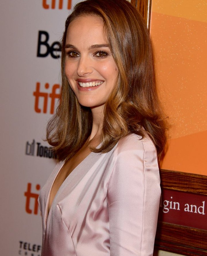 Natalie Portman attends the Vox Lux premiere during the #TIFF18