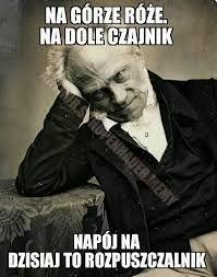 Arthur Schopenhauer On Twitter Na Górze Róże Na Dole