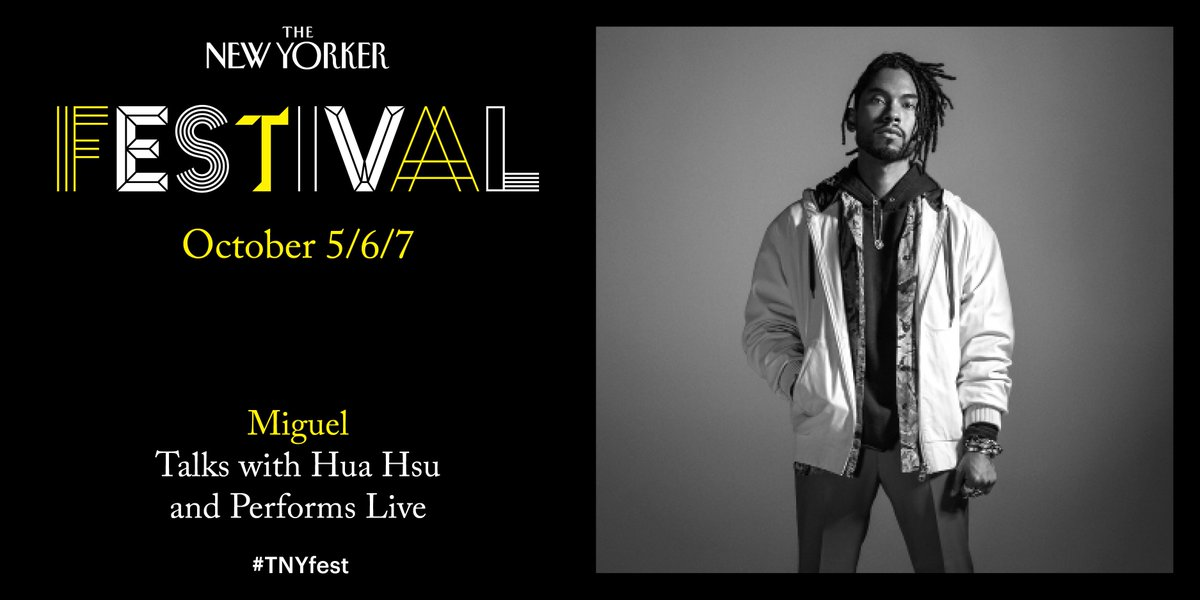 .@newyorkerlive fest this October. @huahsu TICKETS: festival.newyorker.com #TNYfest