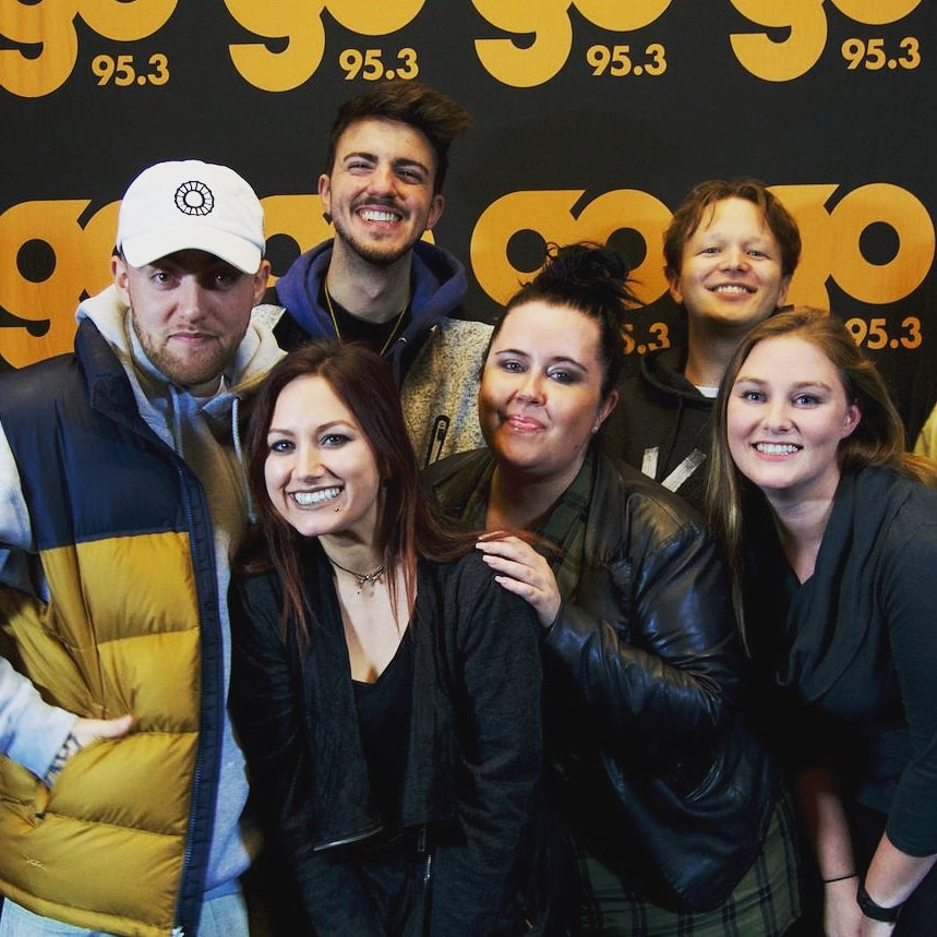 Chaz kangas on twitter asked him about entering rhymecal a unbelievably sad news about mac millers passing today he visited go953mn in autumn 2016 had a qa and meet and greet with fans where he gave everyone a m4hsunfo