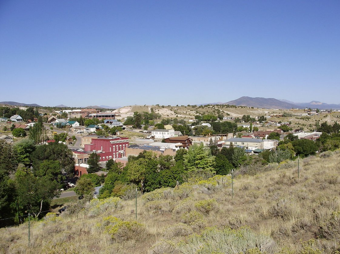 Today Eureka, NV tied its high record for the day at 89 degrees.  The original record was set in 1983.  #nvwx