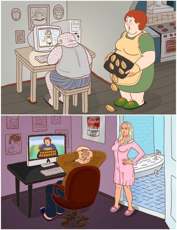 Смешные картинки жене от мужа я хочу
