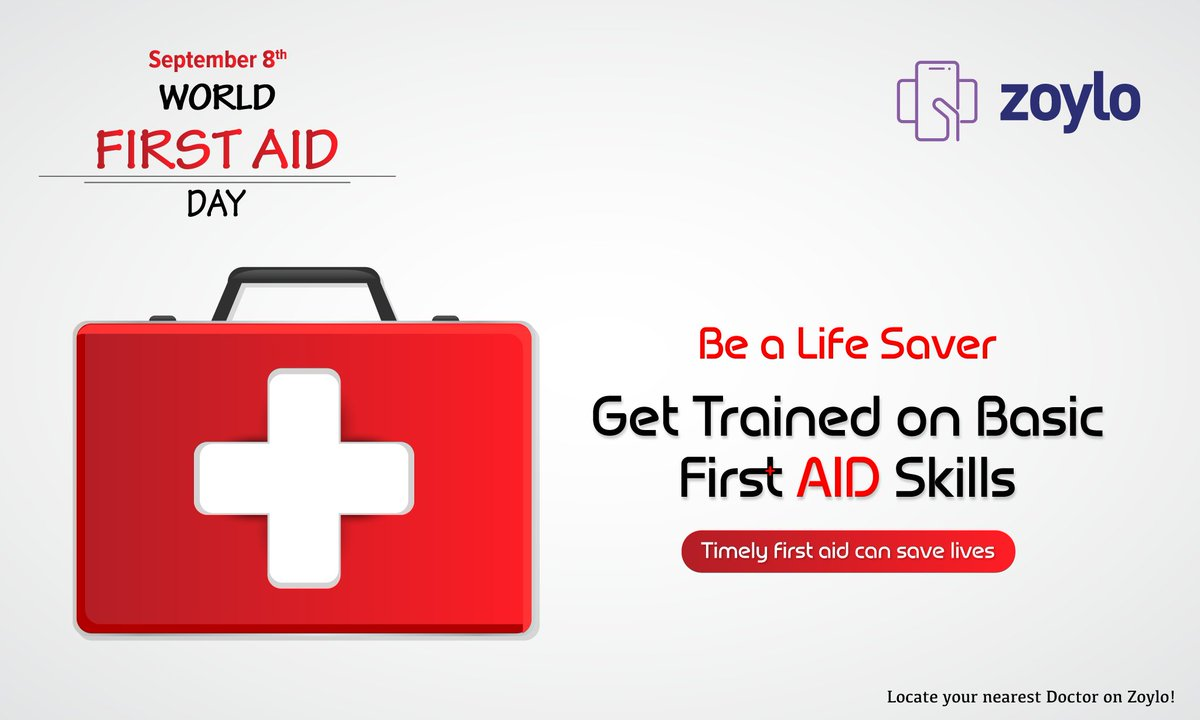 Zoylo On Twitter First Aid Is The First Line Of Care To Be