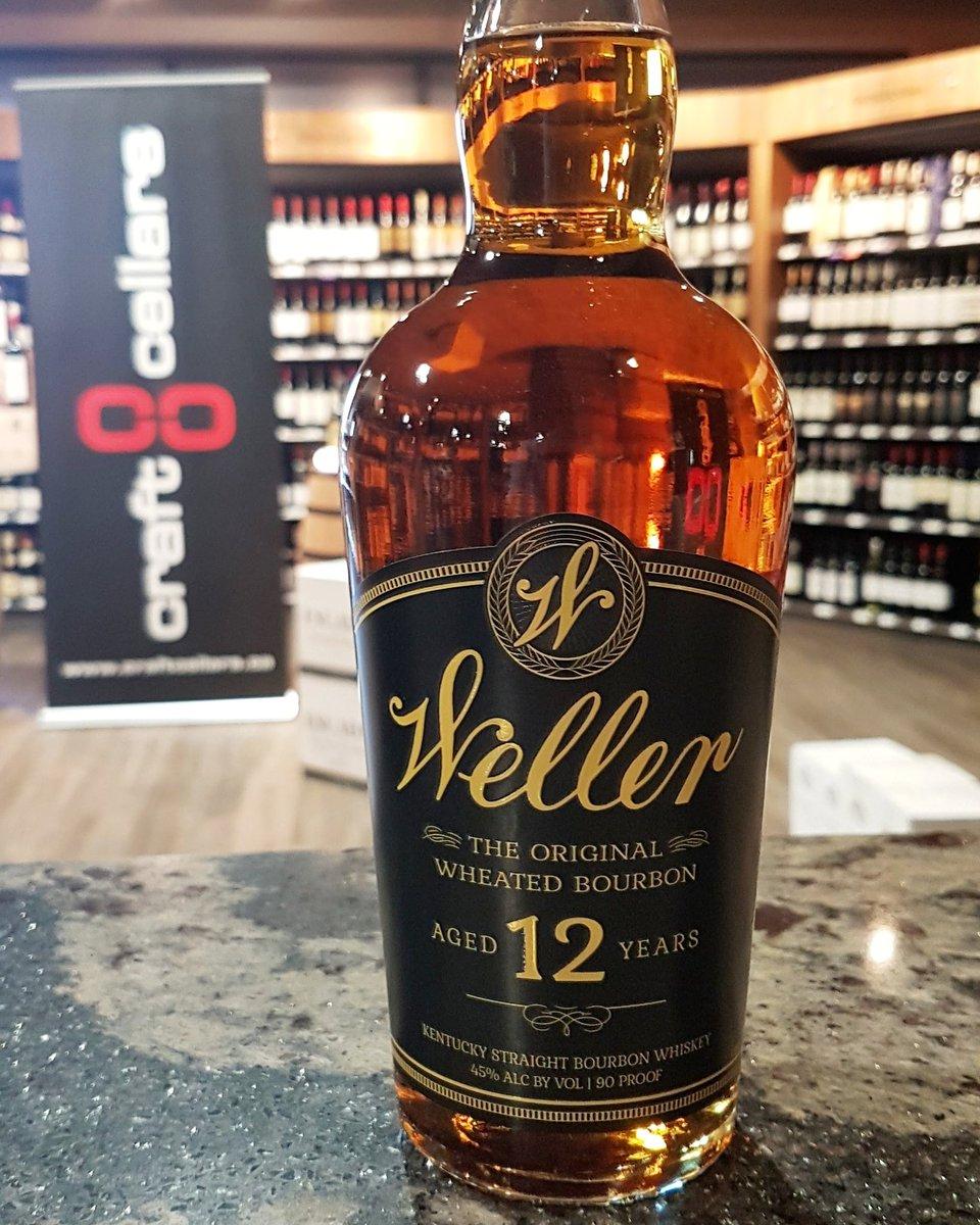 Craft Cellars On Twitter W L Weller 12 Year Old Bourbon