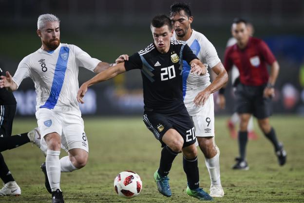Privée de Lionel Messi, l'Argentine a dominé le Guatemala (3-0) dans la nuit de vendredi à samedi en match amical. https://t.co/iVwvPmib1z