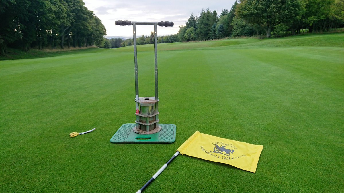test Twitter Media - Just doing the final touches to morning prep for the Gents final major of the season, The Autumn Meeting. Sadly there's no excuses guys, there's no wind, no rain and the greens are running smooth. https://t.co/s7hdztH744