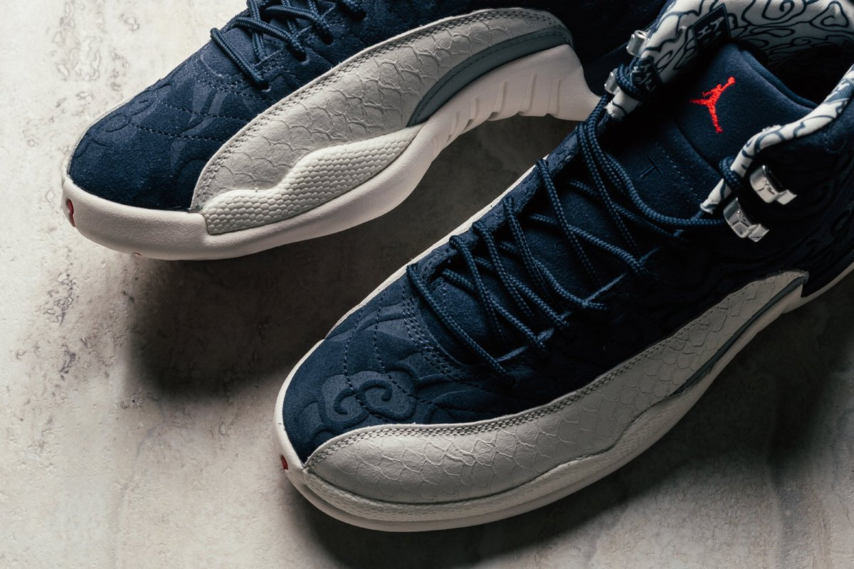 2e6534c0708b98 ... the Air Jordan 12 Retro Premium  International Flight  is available  with global shipping at Footdistrict http   tinyurl.com ycxraehr ...