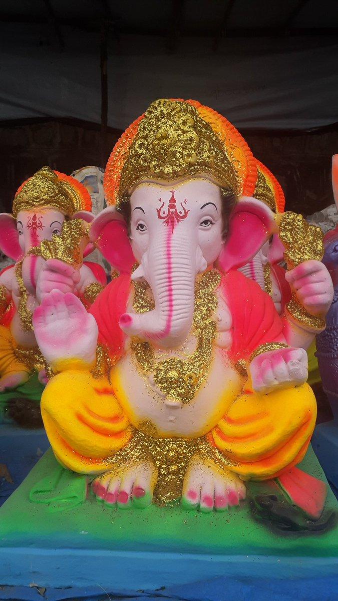 Hi Hyderabad on Twitter Ganesh Idols Ready