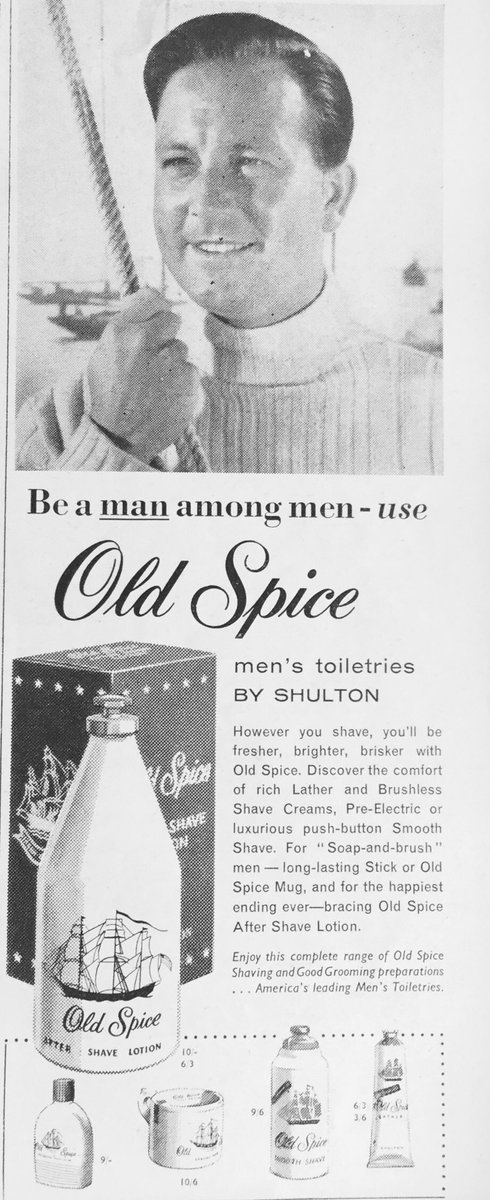 Bill Breakwell On Twitter You Can Never Have Too Much Old Spice