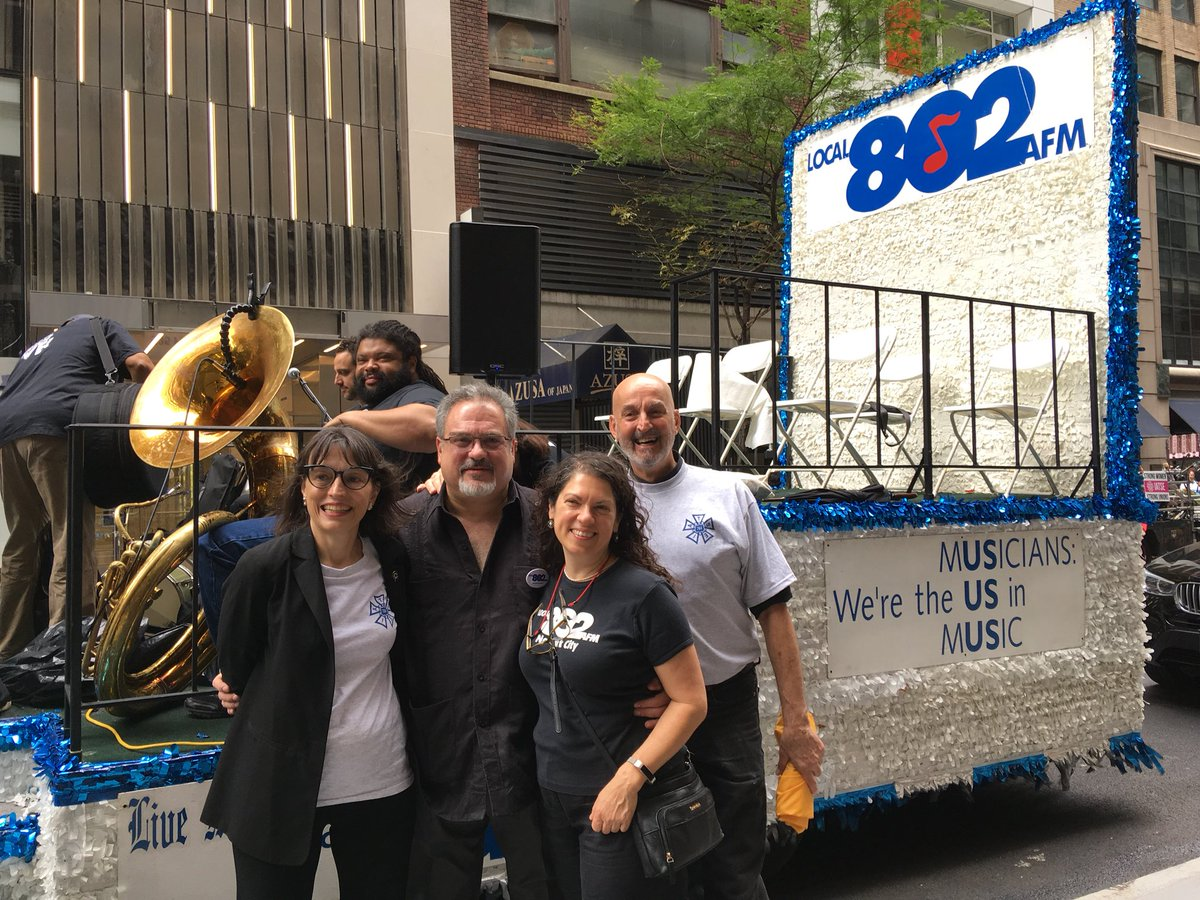 Local 802 Afm On Twitter Were Proud To Be Out At Ldp2018 With