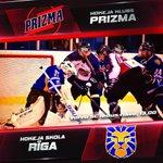 """Image for the Tweet beginning: Sākusies pirmā """"Optibet Hokeja Liga"""