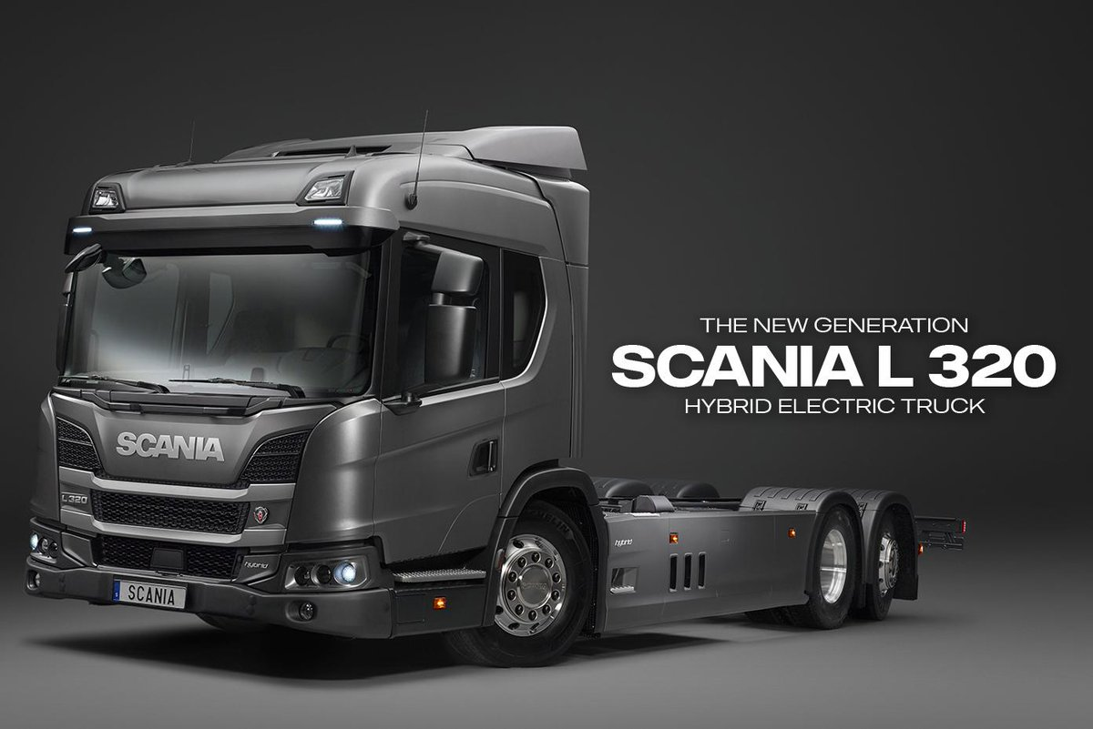 scania group on twitter a new generation of scania 39 s hev. Black Bedroom Furniture Sets. Home Design Ideas