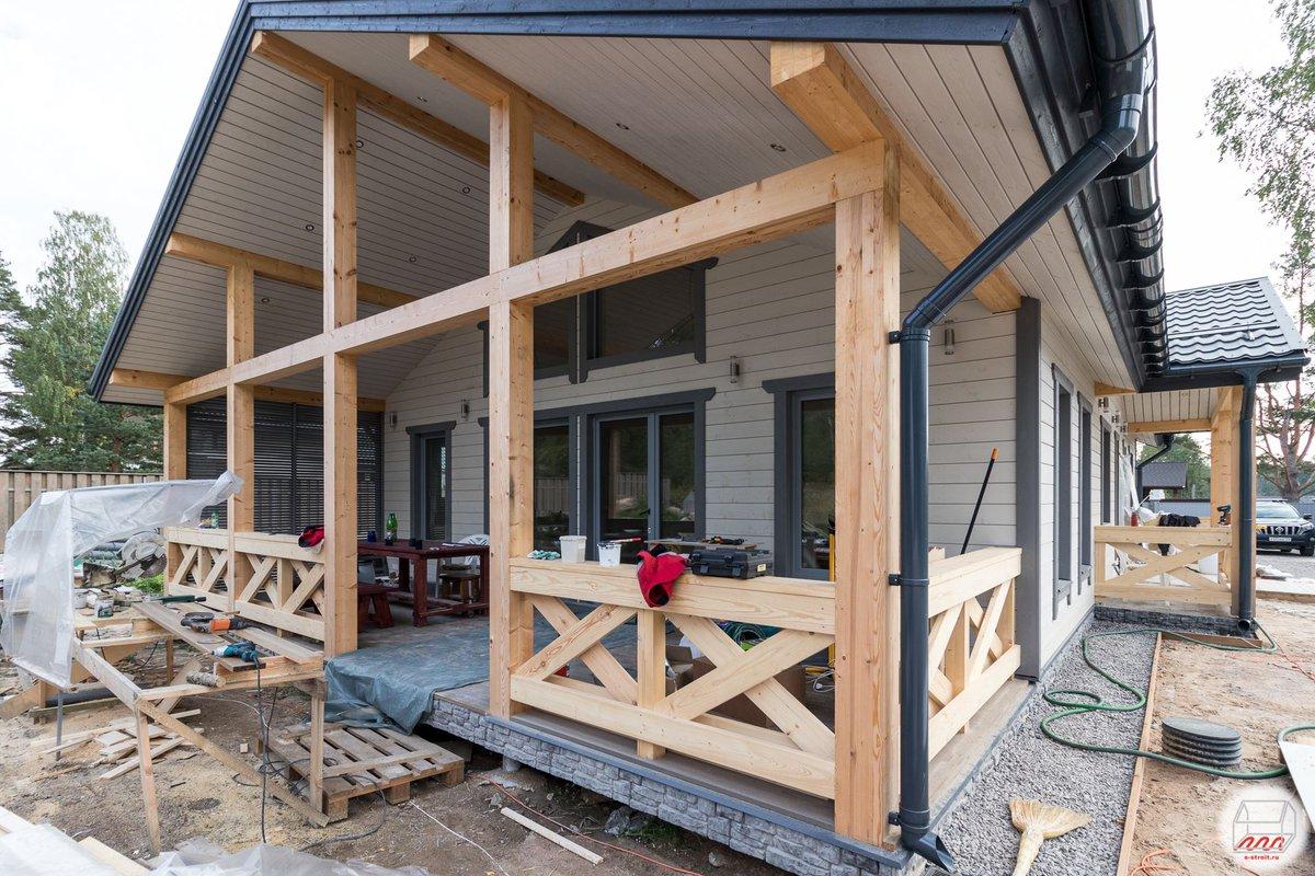 деревянные террасы пристроенные к дому фото вторичная