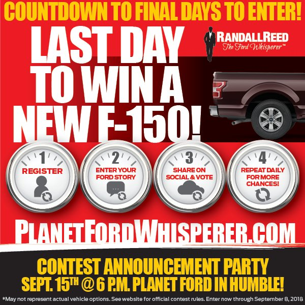 Planet Ford Humble >> Planet Ford 59 On Twitter It S The Final Countdown