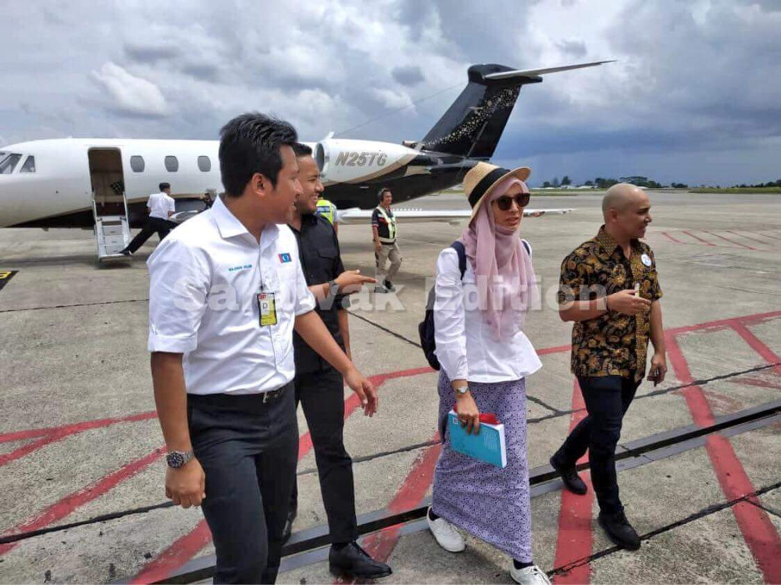 Image result for nurul izzah private jet