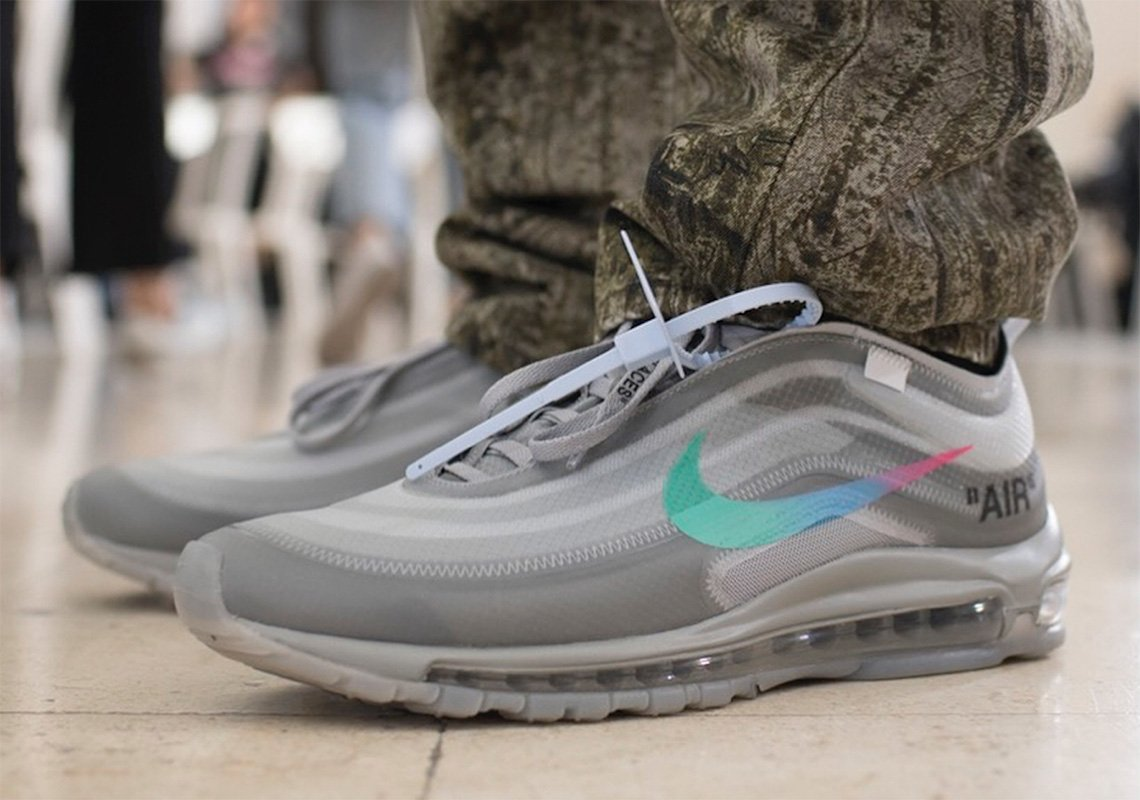 The Off-White x Nike Air Max 97  Menta  gets a confirmed release date ... bef8dc95f20f