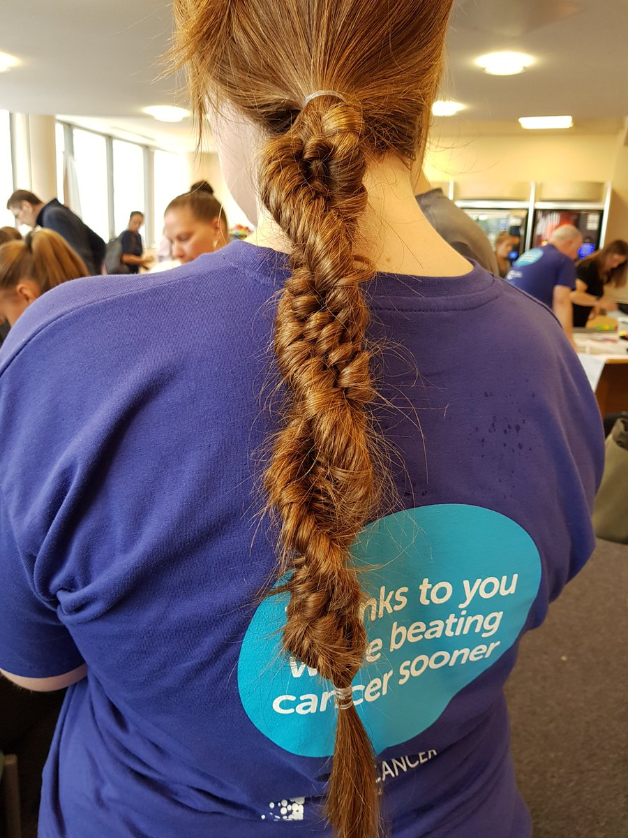 Cruk Southampton And South East On Twitter I Love This Science Hair Style Need To Learn How To Do It Uhsopenday Scicomm Sciencehair Dna