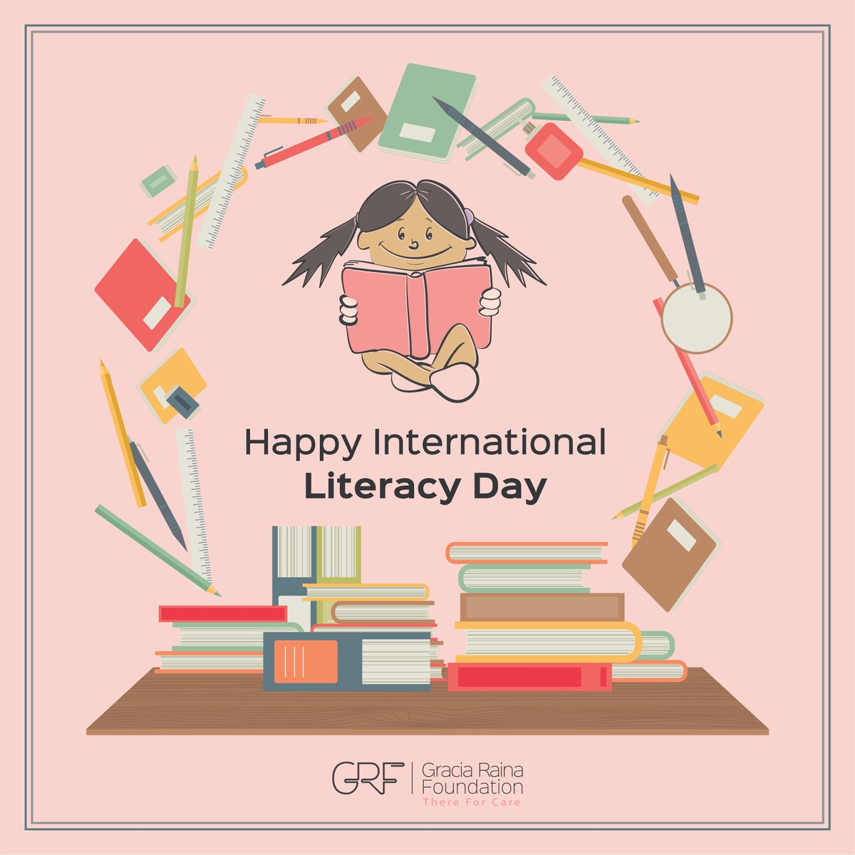 #Literacy unlocks the door of learning throughout the life. Its essential for us to develop & be productive citizens of our country. @grfcare is creating literacy and awareness through various educating workshops on health, rights & responsibilities! #InternationalLiteracyDay