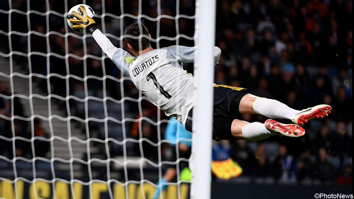 A good win and clean sheet yesterday! Now preparing for our first #nationsleague game on Tuesday! #1 #goldenglove @belgianreddevils
