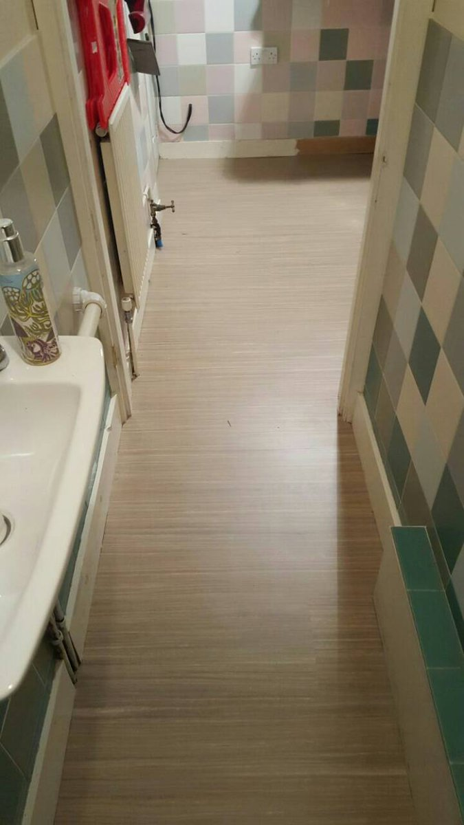 UK Contract Flooring On Twitter Forbo Marmoleum Modular Lines Installed To The Bathrooms Of A Commercial Property