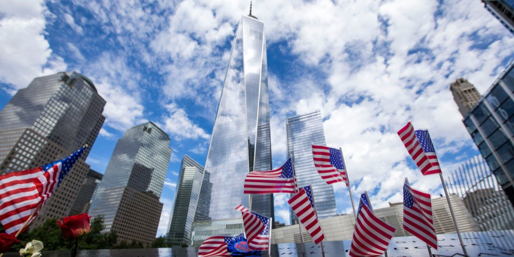 Love. Hope. Resilience. Tuesday marks the 17th anniversary of 9/11. Share your message of love and remembrance with #Honor911. https://t.co/AjC1V0GOhA #911Memorial #911Museum