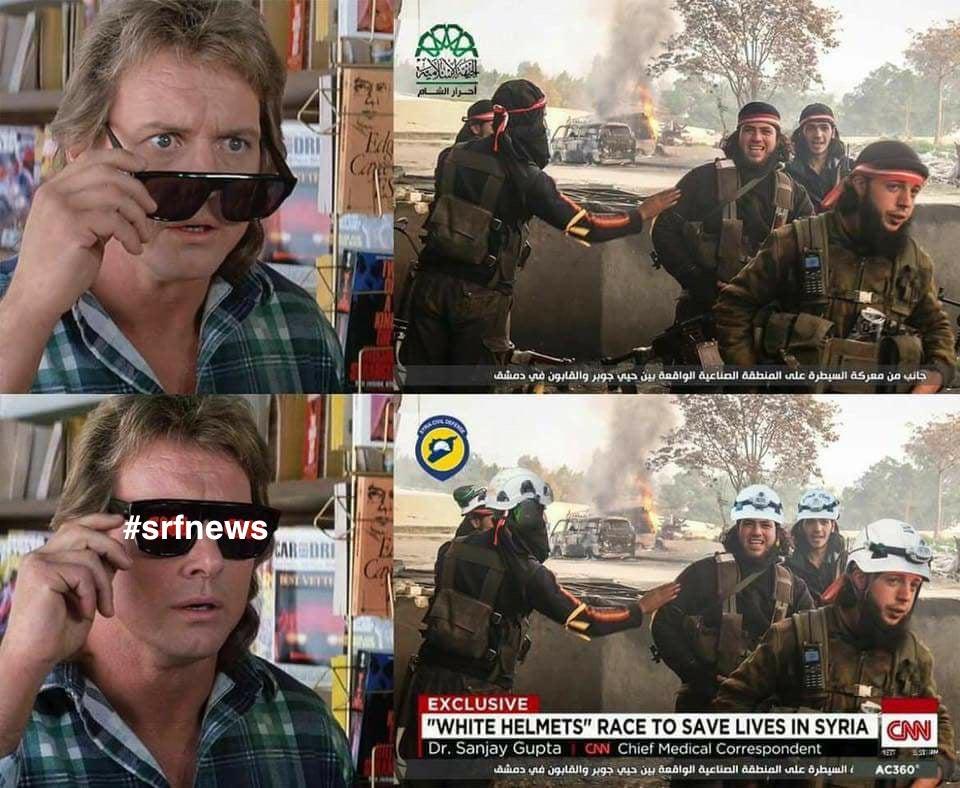 RT @Schweizer2020: Die aktuelle Berichterstattung von #srfnews zu #Idlib in einem Bild. https://t.co/yoNyf91EL8