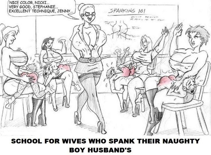 Femdom class spank excellent porn