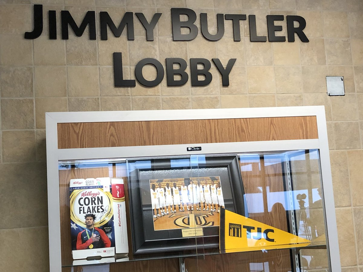 Thank You JimmyButler For Coming Back To TJC Todays Exhibition Basketball Game September 8 Has Now Been Proclaimed Jimmy Butler Day