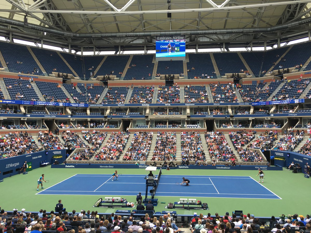 Jason Rabinowitz On Twitter The At Emirates Suite At The Usopen Has - Us-open-court-map