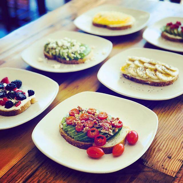 Our healthy, delicious and filling breakfast toasts! #yummy #brunch #breakfast #fresh https://t.co/2WTsJCLV2g https://t.co/8VKRENtkpe