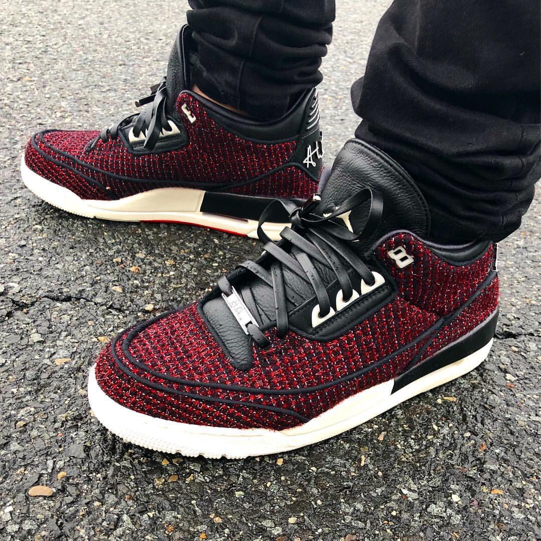 soletoday jimboslice in the voguemagazine x air jordan 3 awok did you cop a  pair 987709ea5