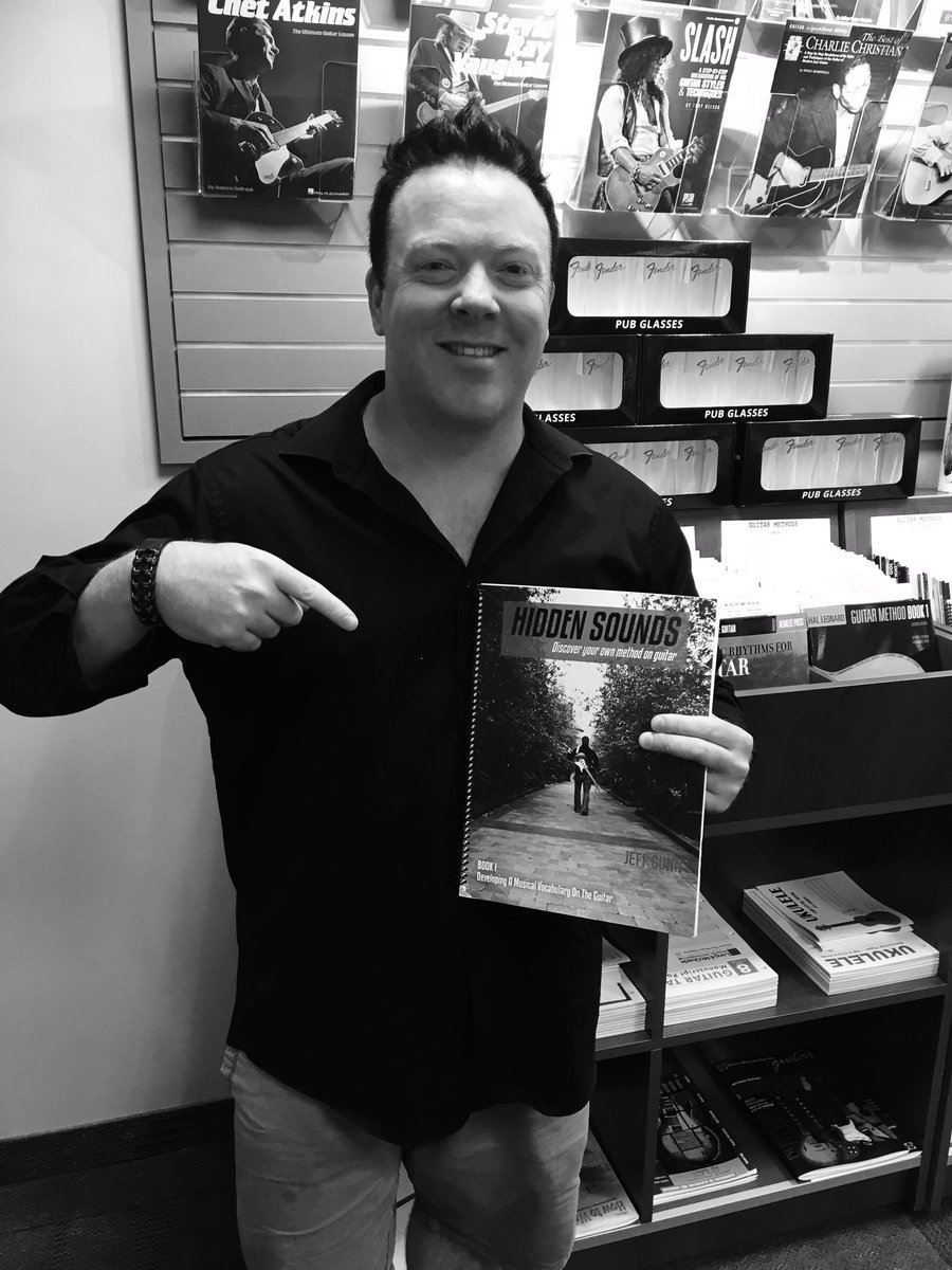 Stopped by Long & McQuade today. Thank you @LongMcQuade for carrying Hidden Sounds Guitar Series at L&M stores throughout Canada. Featuring my @Fender @godin_guitars @LevysLeathers @daddariocanada @DaddarioandCo
