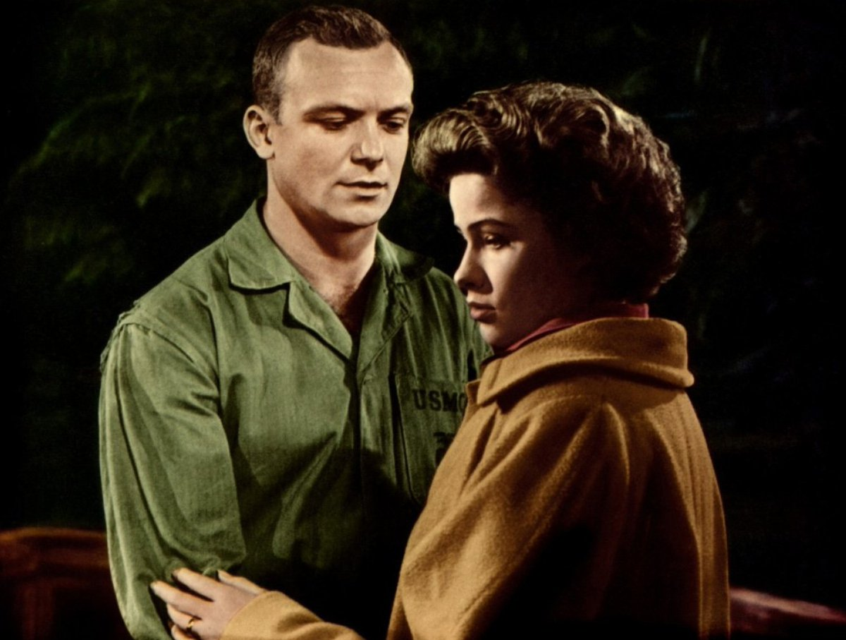 Image result for aldo ray and nancy olson in battle cry