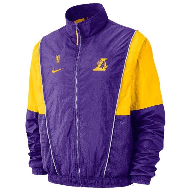5658b3913 Nike x NBA Throwback Track Jackets and Pants on Foot Locker Shop -   https   go.j23app.com 8t9 pic.twitter.com 5UAkPGxL4T
