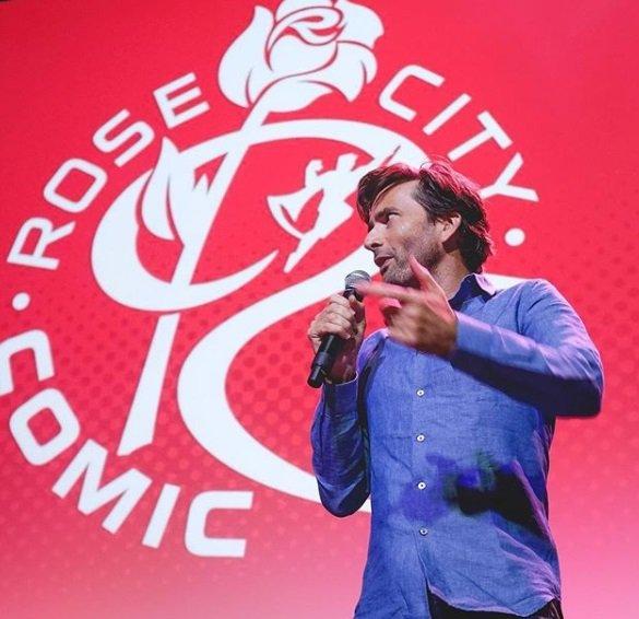 David Tennant at Rose City Comic Con - Saturday 8th September 2018