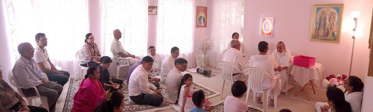 Brahma Aris Texas On Twitter Divine Family In Austin Celebrated Raksha Bandhan At Cl Location Bk Dr Hansaben Tied Rakhi To 30 Brahmins