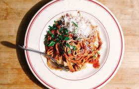 Spaghetti with Sunday Gravy https://t.co/gesrkngfI8 #Recipeoftheday #Recipes #Spaghetti #Sundaygravy https://t.co/KedmrHsyIs