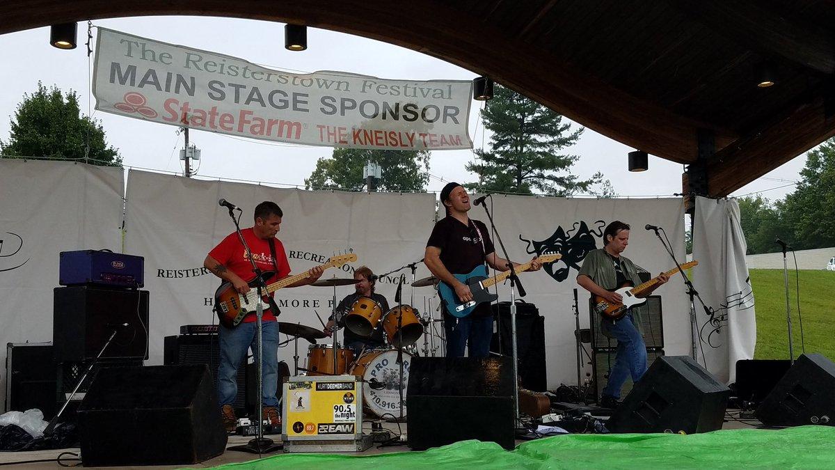 Kurt Deemer Band is on!
