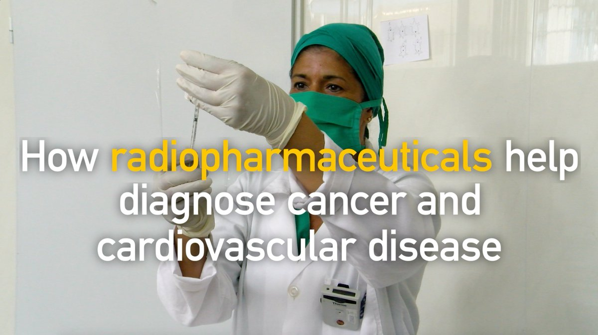 Hospitals 🌍 are using #radiopharmaceuticals to detect cancer, cardiovascular and other chronic diseases in their very early stages. This video explains you what they are and how they are improving health care.