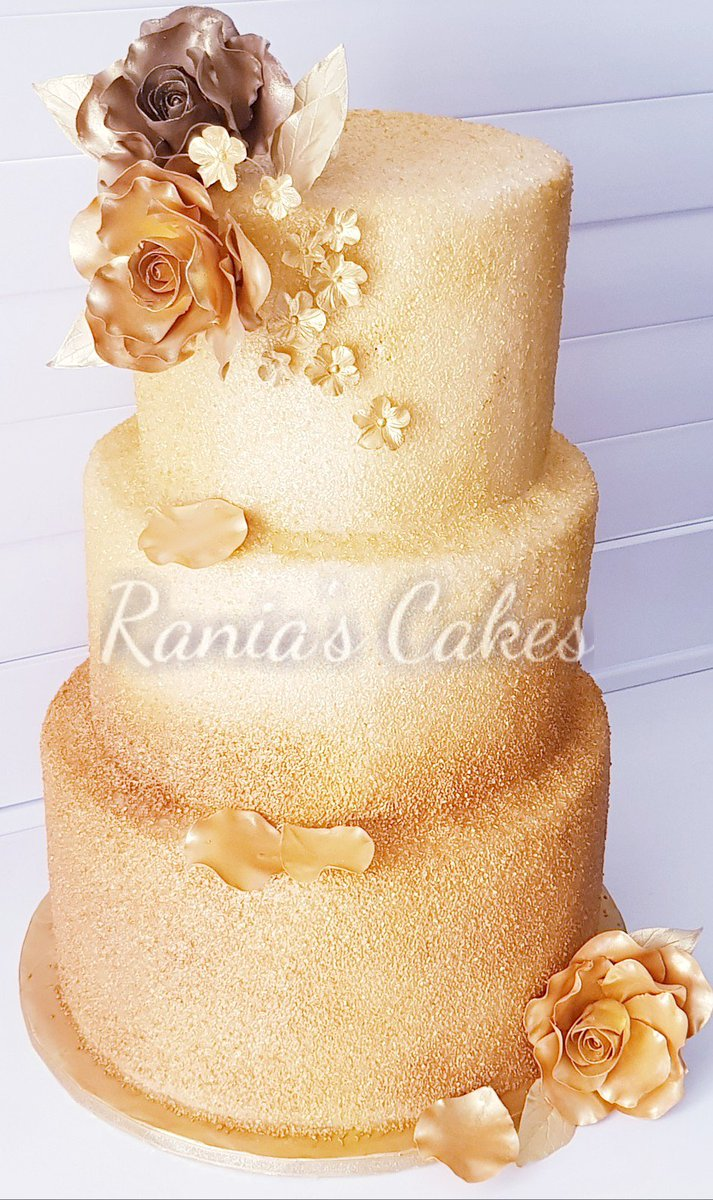 Rania S Cakes On Twitter Sometimes With Gold Enough Just Isn T