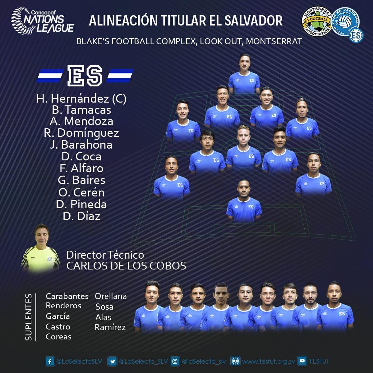 Liga de Naciones CONCACAF y Eliminatorias a Copa Oro 2019 [8 de septiembre del 2018 - Monserrat] DmmfUZLXgAERcSr