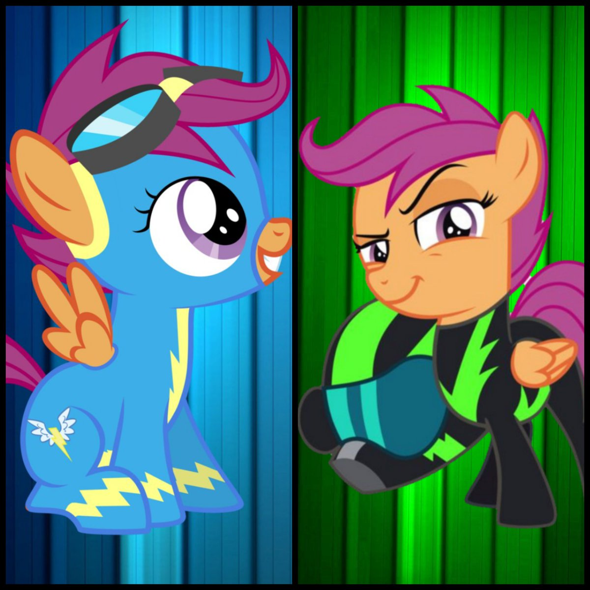 Mlp Skyline On Twitter Which Scootaloo Is Better Wonderbolt Or Washout Mlp Brony Mylittlepony Rumble, thunderlane's younger brother is a new student in scho. washout mlp brony mylittlepony
