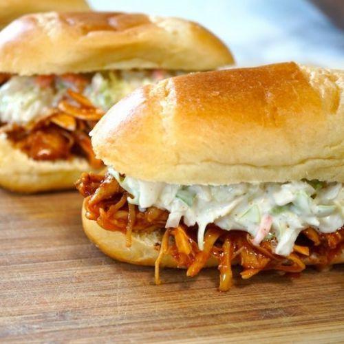Crock Pot BBQ Chicken Sandwiches > Crock Pot recipe ALERT. These -> https://t.co/EJiXUqjJbv #recipe https://t.co/6Q7GjV2wOb