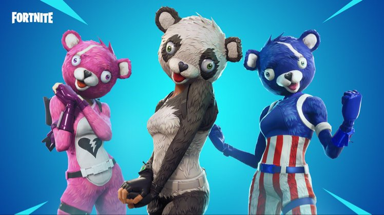 fortnite on twitter un bear ably cute the cuddle fireworks and