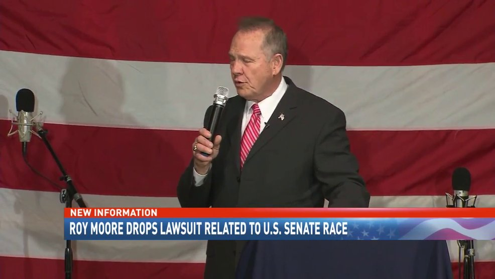 #RoyMoore drops lawsuit related to his failed U.S. Senate run https://t.co/T3Ti8tUcrr