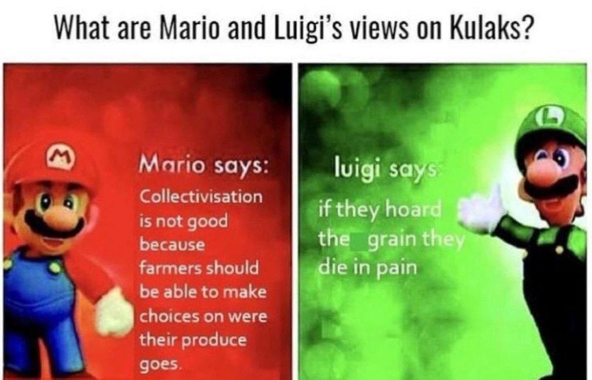 La Tristesse Durera Toujours On Twitter I Love Luigi Says