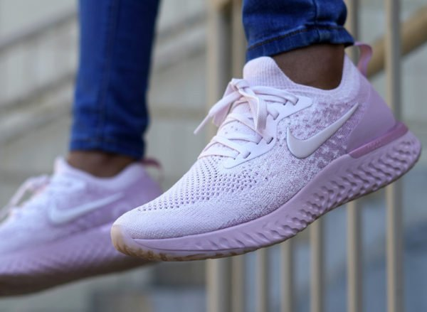 20% OFF Nike Epic React Flyknit  Pearl Pink  via  FinishLine at  119.99 +  shipping    http   bit.ly 2JdQMLo (sold out via Nike  US)pic.twitter.com aTVVjiXxa6 3a4949328b2