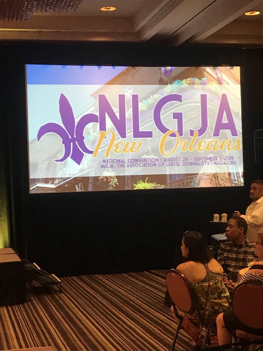 Image result for NLGJA 2018 New Orleans