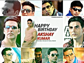 Wish u a very very Happy birthday Akshay Kumar sir God bless u and you live long